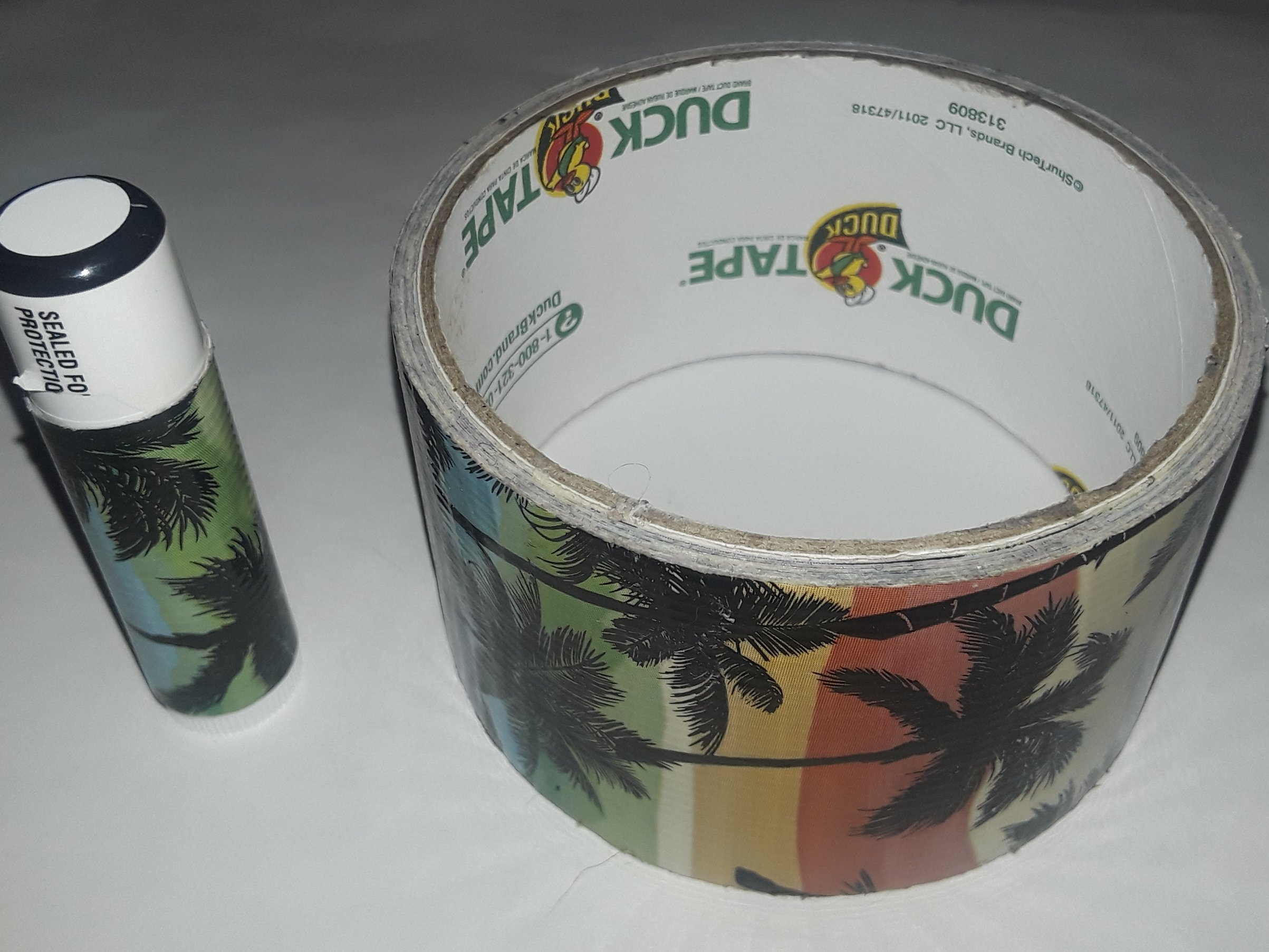 25 Palm Trees Tropical Chap Stick Lip Balm twenty five pack pieces BULK by In a Sticky Situation