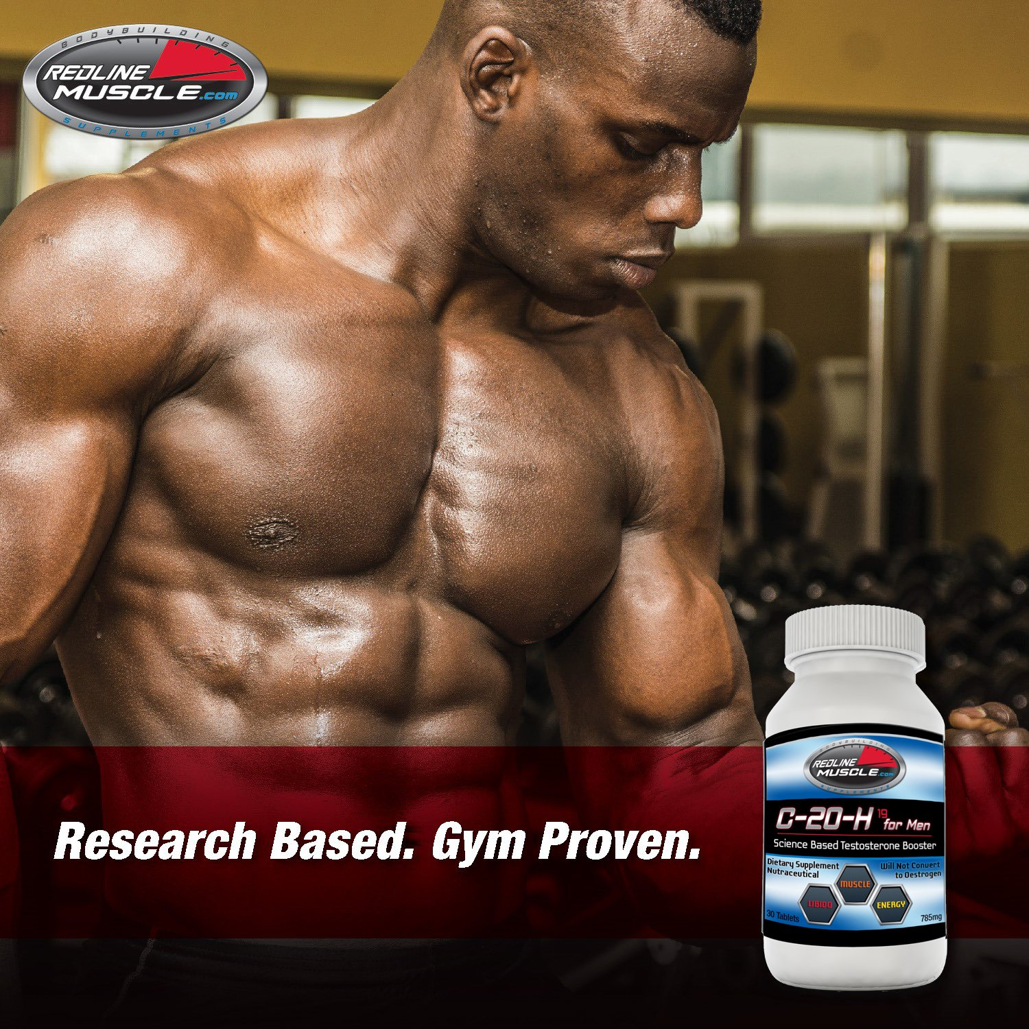 Amazon.com: C-20-H Voted Best Testosterone Booster and ...