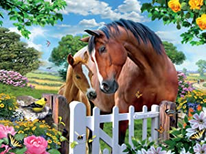 Ceaco Harmony - at The Gardens Gate 2 Jigsaw Puzzle, 550 Pieces