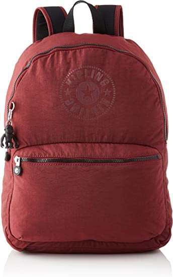 Kipling Kiryas, BACKPACKS Unisex Adulto, 12.5x32.5x44 cm