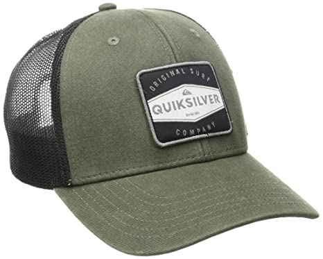 ... where to buy quiksilver mens destril trucker hat four leaf clover one  size 80270 ce65e 8407a38cea56