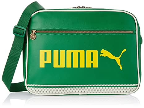 e77de41baf67 Puma Fabric Green Messenger Bag (7174409)  Amazon.in  Bags