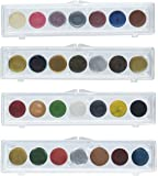 Craf-t Products Complete Set of Rub On Metallic Embellishment Colors ~All 4 Sets!