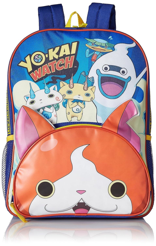 Yo-Kai Watch - Mochila infantil niño, azul (azul) - B16YK28820-AZ: Amazon.es: Ropa y accesorios