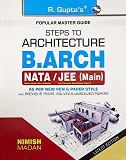 Buy Steps to Architecture (NATA) B  Arch Entrance Exam Guide