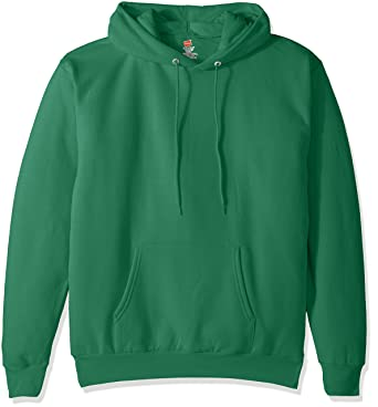 Hanes Men's Pullover EcoSmart Fleece Hooded Sweatshirt at Amazon ...