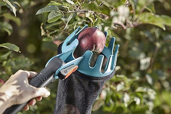 Gardena 3115-20 - Recolector de fruta combisystem, práctico auxiliar para la cosecha, encaja con todos los mangos combisystem: Amazon.es: Jardín