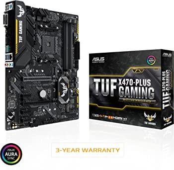 Asus TUF X470-Plus Gaming AMD Ryzen 2 AM4 DDR4 ATX Motherboard