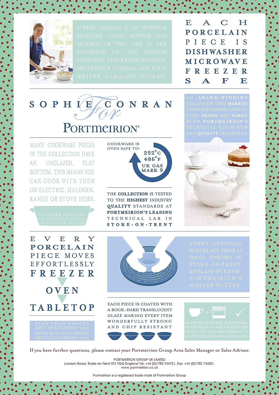 Amazon Com Portmeirion Sophie Conran White Creamer Sugar Bowl Creamers