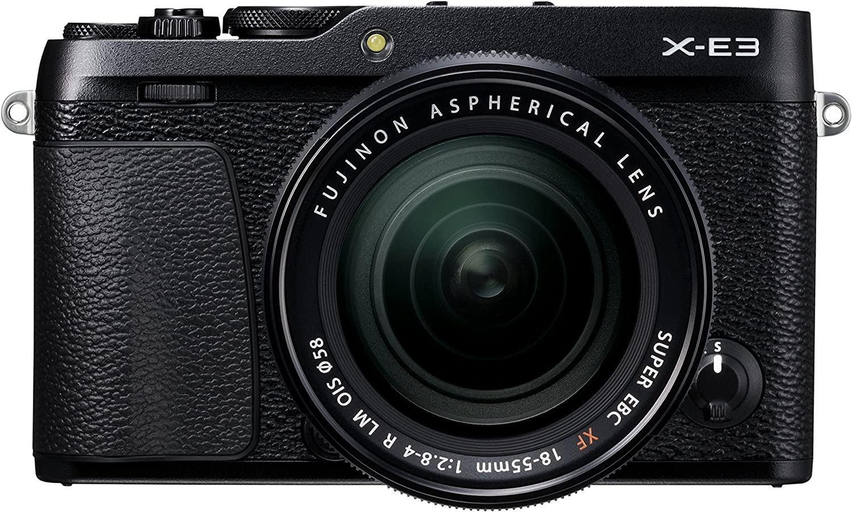 Fujifilm X E3 Xf 18 55 Schwarz Kamera