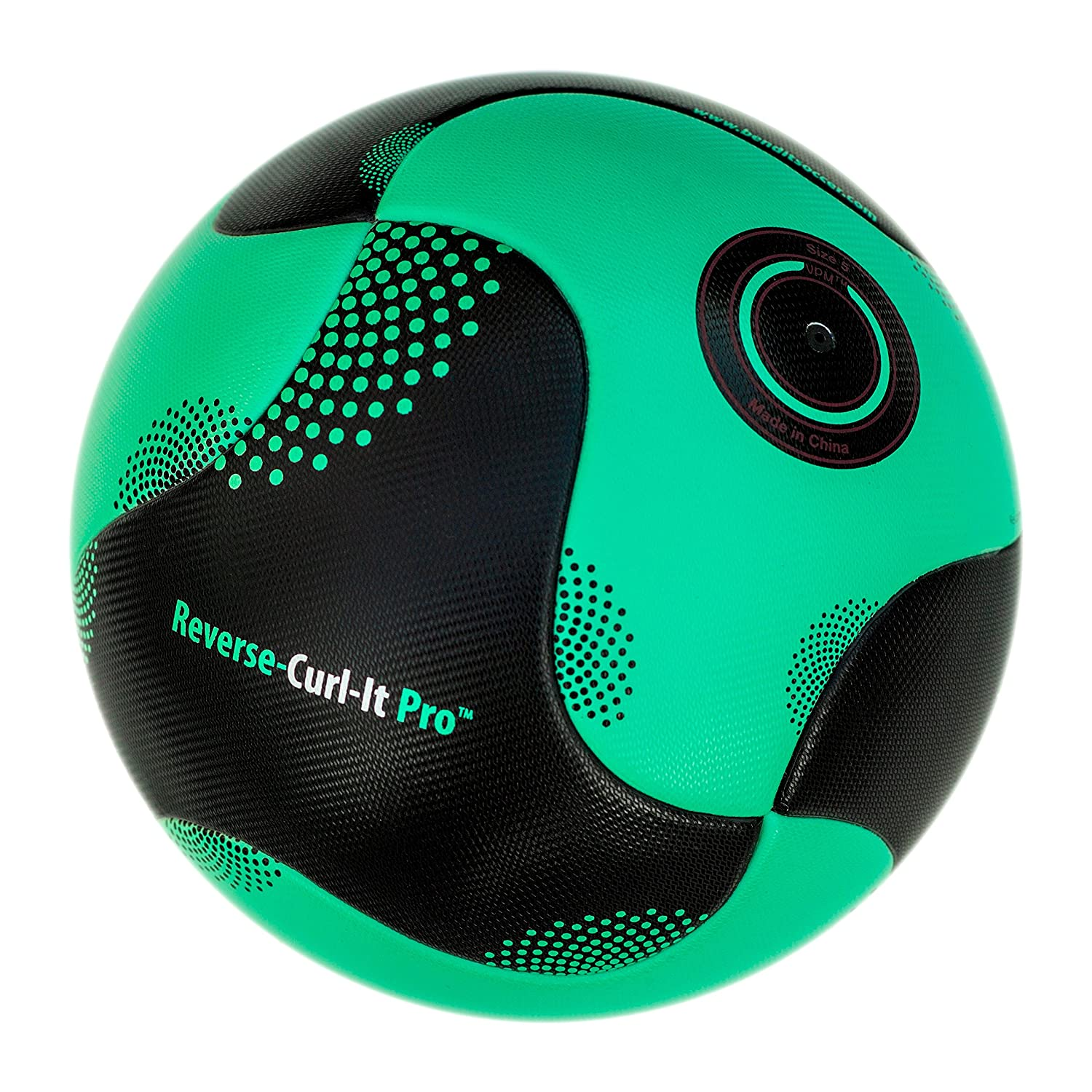 bend-itサッカー、knuckle-it Pro、サッカーボール、Official Match Ball with VPM and VRCテクノロジー B015IK7ERS 5|Green/Black (Reverse-Curl-It Pro) Green/Black (Reverse-Curl-It Pro) 5