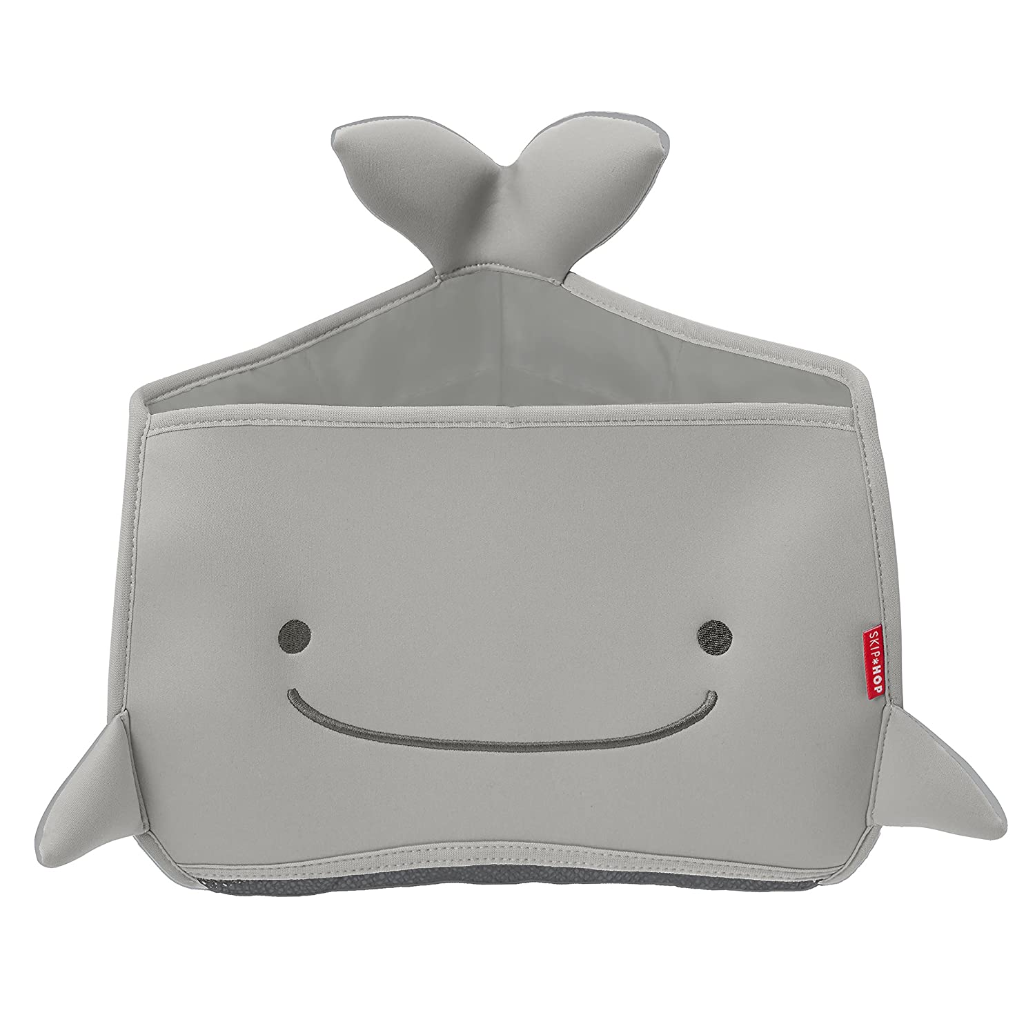Moby Bath Toy Organizer for Babies and Toddlers, Corner Bath Tub Storage, Grey Skip Hop 235058
