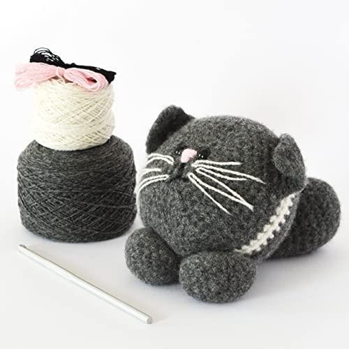 DMC Petra Amigurumi LITTLE LADY NINJAS Crochet KIT | 500x500
