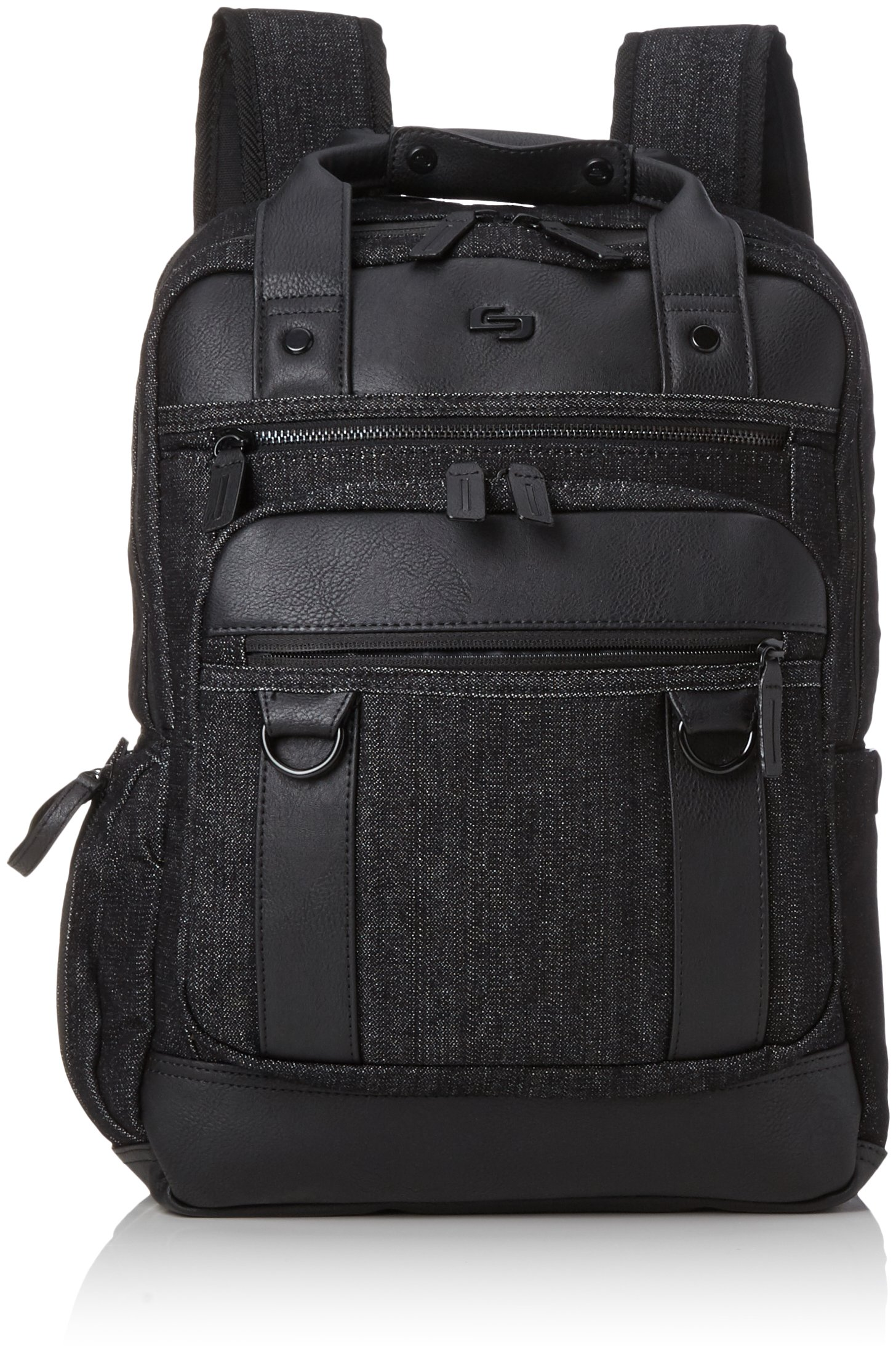 Solo Crosby 15.6 Inch Laptop Backpack with Padded Compartment, Black