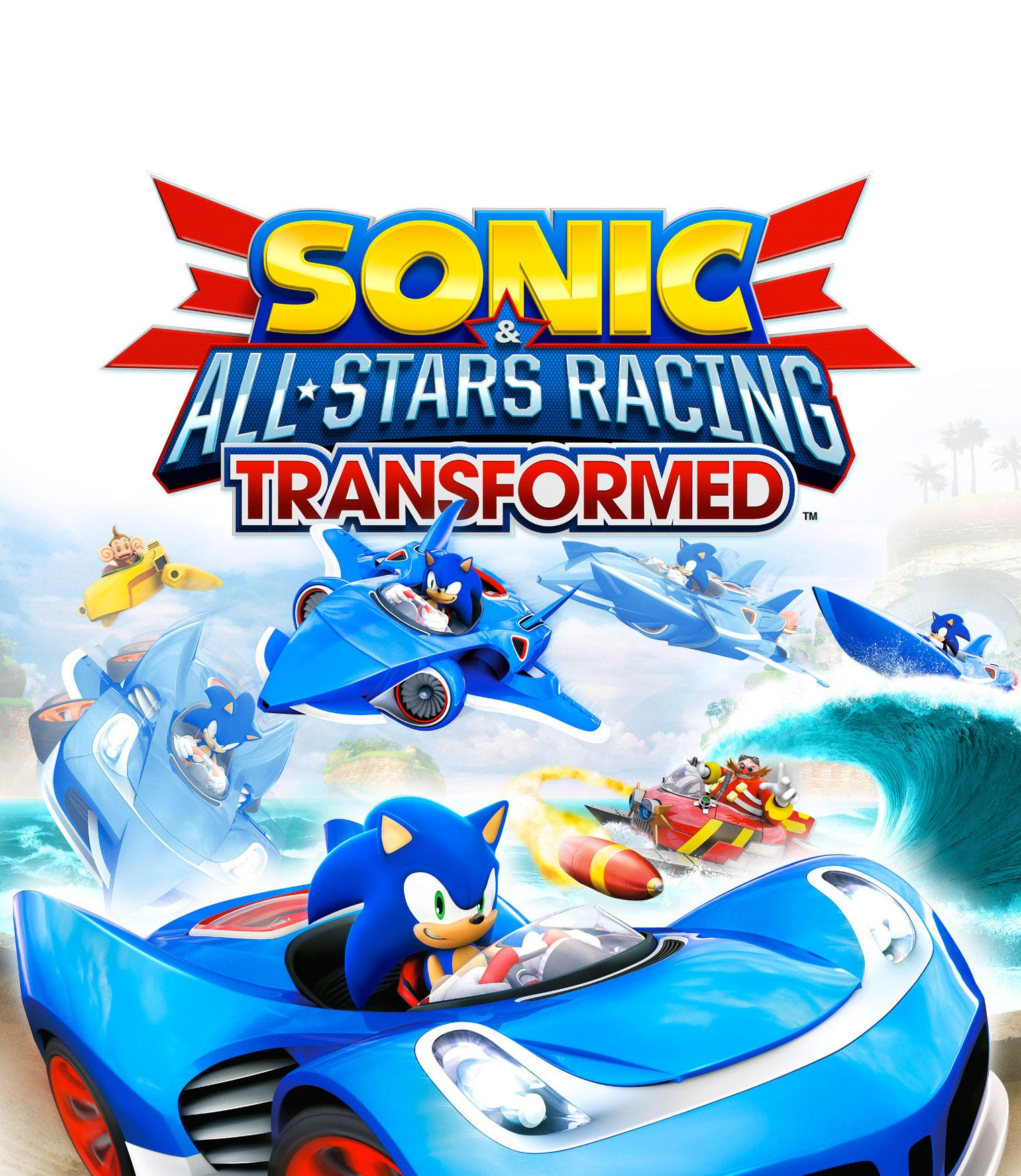 Sonic & All-Stars Racing Transformed [Online Game Code] (Sonic And All Stars Racing Transformed Characters)