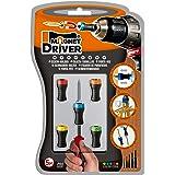 PORTAPUNTAS MAGNETICO MAGNET DRIVER® B50, el gran invento que sujeta los tornillos y permite atornillar con una sola mano, adaptable a cualquier destornillador o taladro.