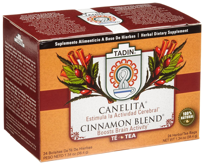 Blend gourmet herbal tea - Amazon Com Tadin Tea Canelita Cinnamon Blend Tea 24 Count Tea Bags Pack Of 12 Herbal Teas Grocery Gourmet Food