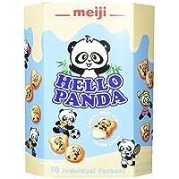 Meiji Hello Panda Family Pack Cookie, Vanilla, 9.1 Ounce