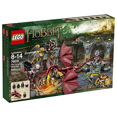 LEGO Hobbit 79018 The Lonely Mountain (Discontinued by manufacturer): Toys & Games