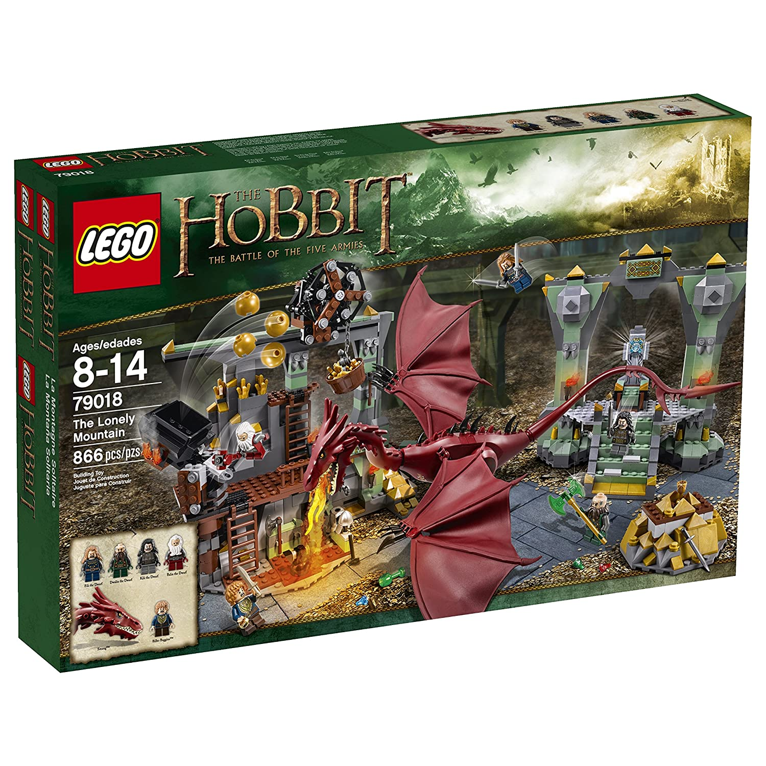 LEGO Hobbit 79018 The Lonely Mountain Discontinued by manufacturer