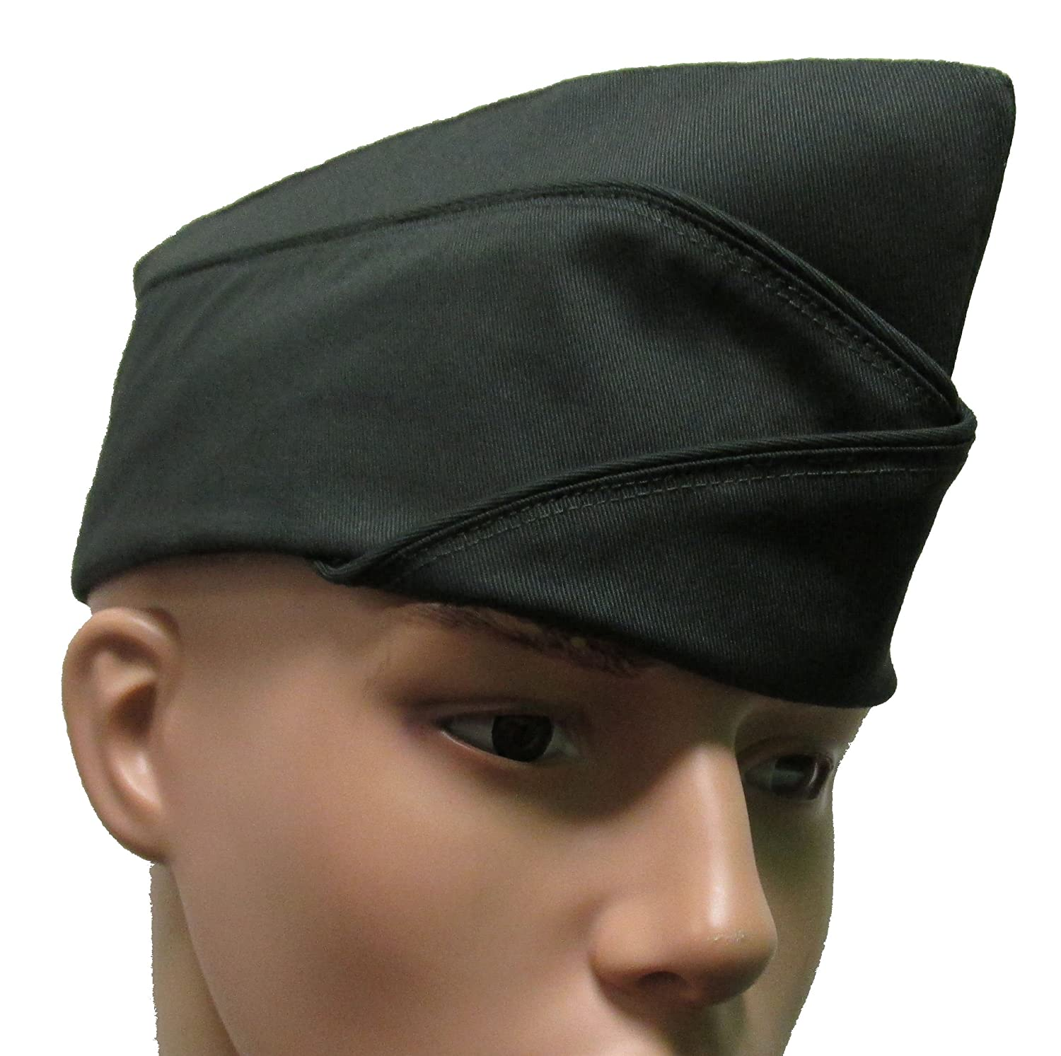 cdd9e7eba19 Amazon.com  Military Uniform Supply Garrison Cap - O.D. GREEN  Clothing