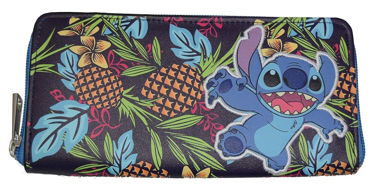 Lilo And Stitch Zip Around Clutch Wallet