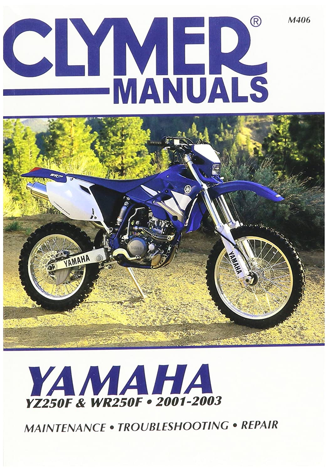 Amazon.com: 01-03 YAMAHA YZ250F: Clymer Service Manual: Manufacturer:  Automotive