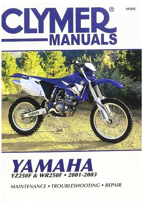 amazon com clymer repair manual m406 manufacturer automotive rh amazon com 2001 Yamaha YZ250F Review 2001 yamaha yz250 repair manual