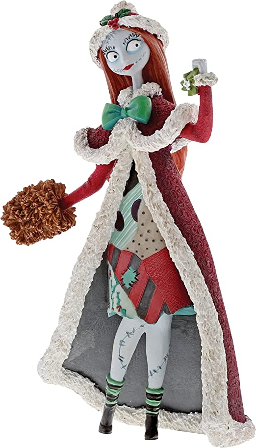 "Amazon.com: Enesco Disney Showcase ""The Nightmare Before Christmas"" Sally  Stone Resin Figurine, 8"", Multicolor: Home & Kitchen"