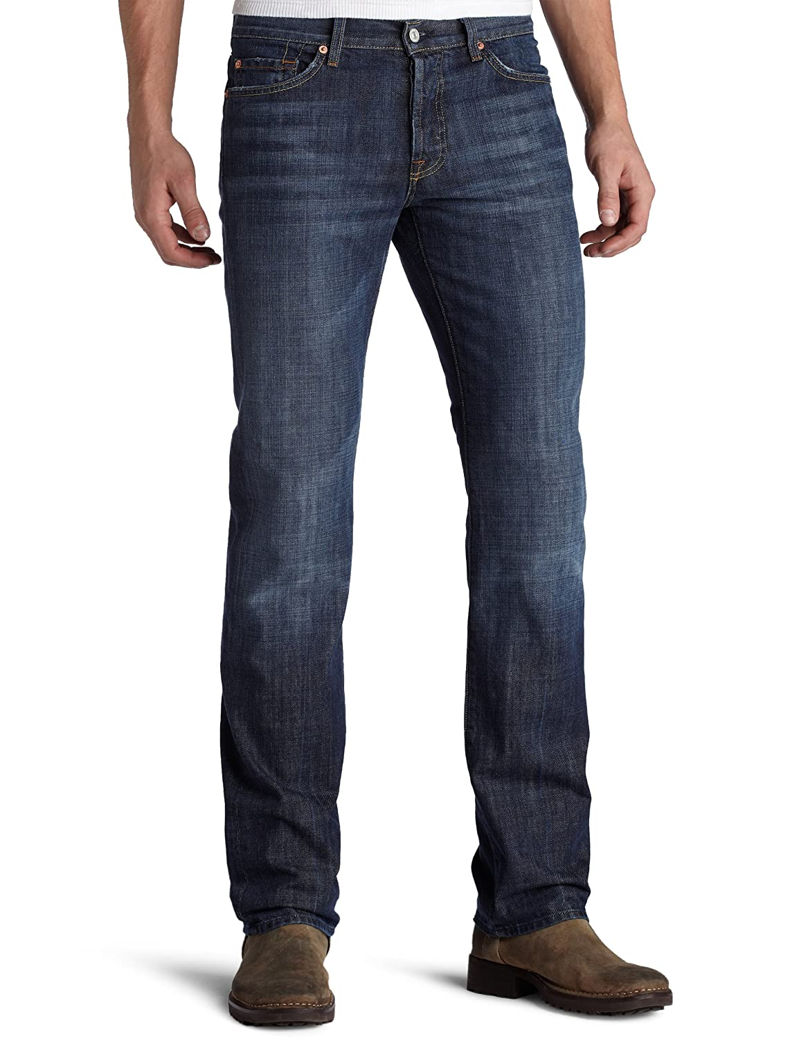 Amazon.com: 7 For All Mankind Men's Standard Straight-Leg Jean in ...