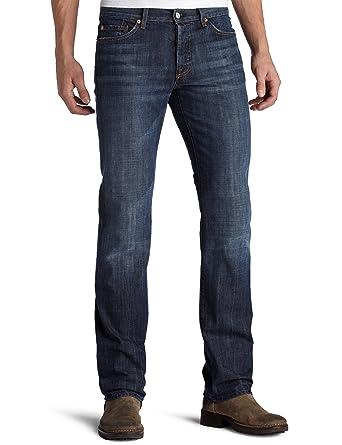 9604d228 Amazon.com: 7 For All Mankind Men's Standard Straight-Leg Jean in New York  Dark, New York Dark, 31x34: Clothing