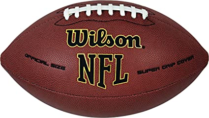 WILSON NFL American Football WTF1795 Super Grip Official Size TOP SALE