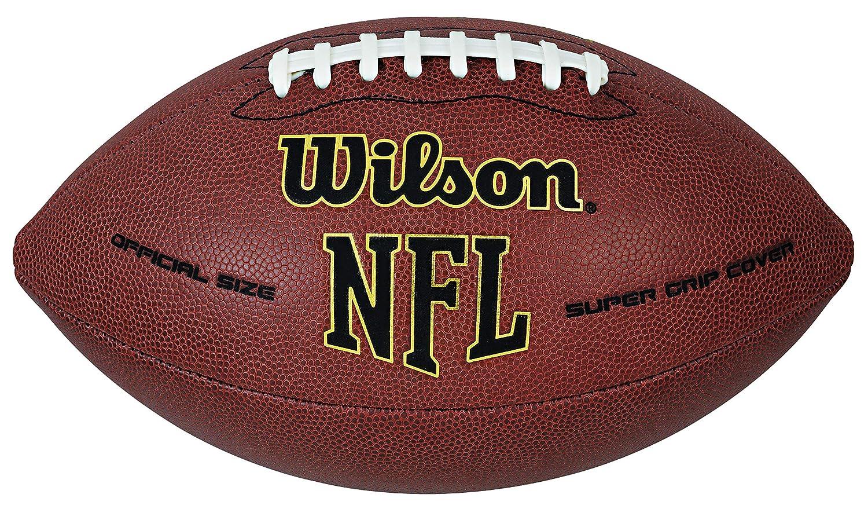 Bola de Futebol Americano Wilson NFL Super Grip  Amazon.com.br  Esportes e  Aventura dfec79a4f2dfa