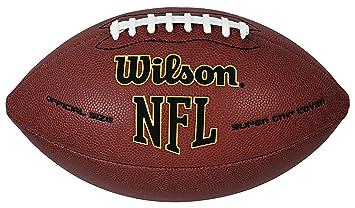 a984773cd2681 WILSON Ballon de Football américain NFL Taille Unique Marron: Amazon ...