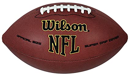 2cac28ff694 Amazon.com   Wilson NFL Super Grip Official Football   Sports   Outdoors