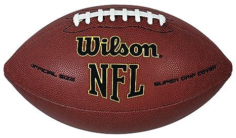 23e4e7e83 Bola de Futebol Americano Wilson NFL Super Grip  Amazon.com.br ...