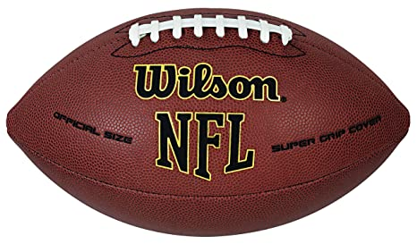 14fd84eb8 Amazon.com   Wilson NFL Super Grip Official Football   Sports   Outdoors