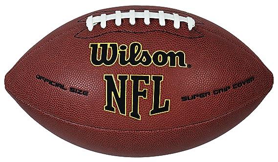 Wilson NFL Super Grip Balón de fútbol: Amazon.es: Deportes y aire ...