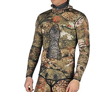 Amazon.com: Sporasub 3 mm Reef traje de neopreno chamarra ...