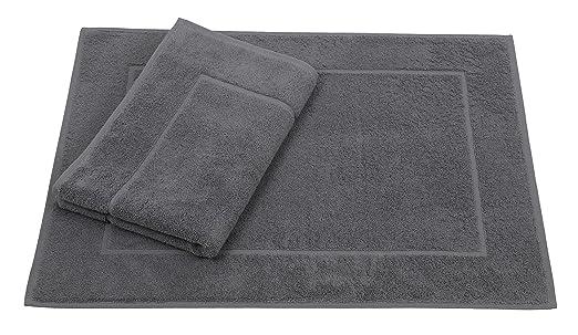 Betz 2 Unidades alfombras de baño tamaño 50x70cm 100% Algodon ...