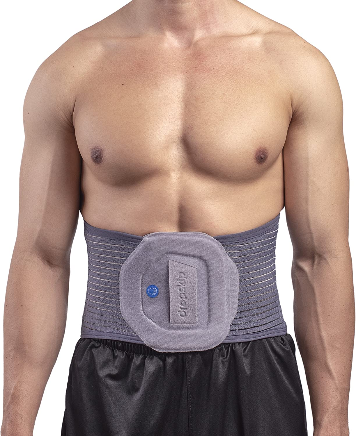Back Brace Back Support Belt – Breathable Mesh with Removable Heating and Cooling Gel Pack, Lumbar Support Brace for Back Pain, Sciatica, Scoliosis. Great for Walking, Sitting, Sports, Work [Large]
