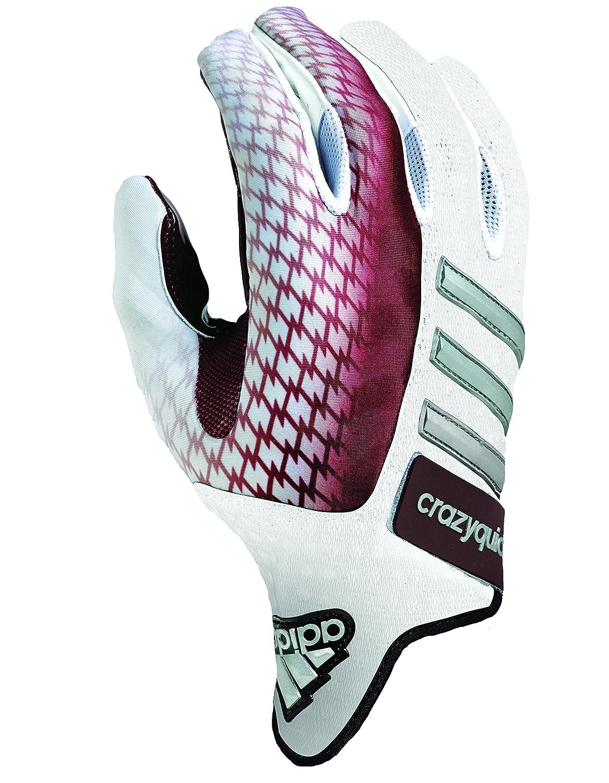Adidas Handschuhe Crazyquick 2.0, Fußball, Weiß Maroon, 3 x -Large