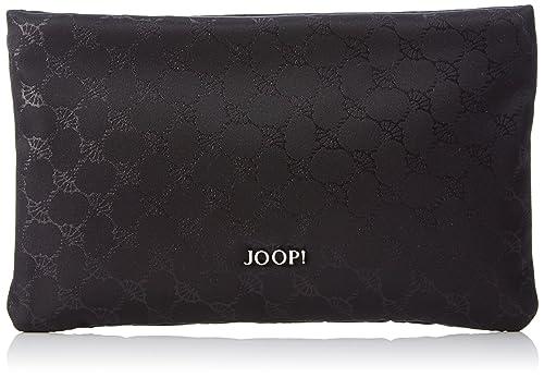 JOOP! Nylon Cornflower Mira Cosmeticpouch Mhz, Pochettes femme, Schwarz (Black), 1x14x22 cm (B x H T)