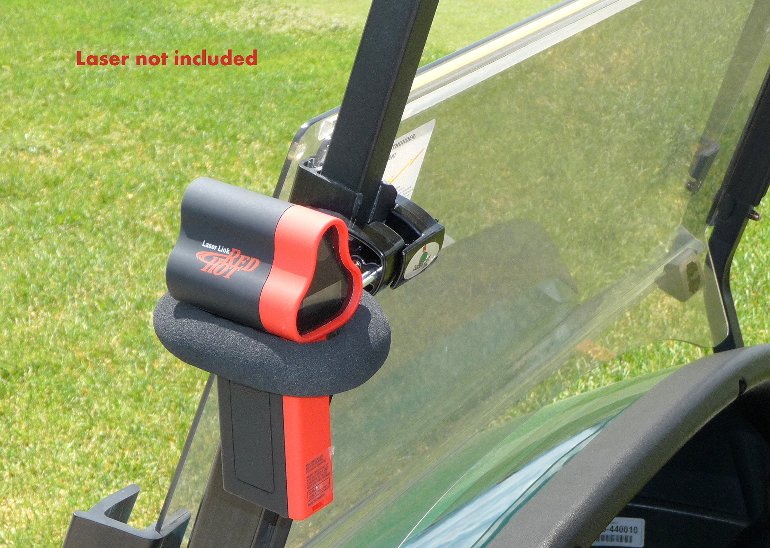 Golf Cart Mount / Holder for Laser link Redhot, Switch Tour, RH2, Quickshot, Eagle Rangefinders. by Caddie Buddy