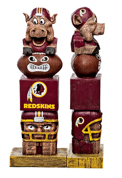Image Unavailable. Image not available for. Color  Evergreen Tiki Totem  Statue NFL Washington RedSkins Football Team 4e6512441