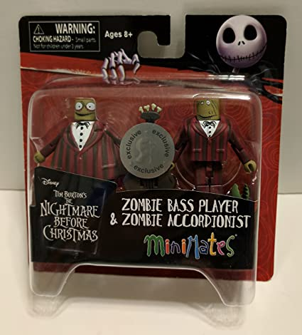 Nightmare Before Christmas Zombie.Amazon Com Minimates Nightmare Before Christmas Zombie
