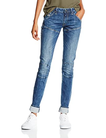 separation shoes 26f78 a02e3 G-STAR RAW Women's 5620 Elwood Mid Waist Skinny Jeans