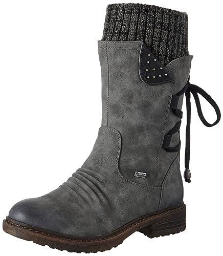 Rieker 94773 Damen Halbschaft Stiefel  Rieker  Amazon.de  Schuhe ... 4f32524882