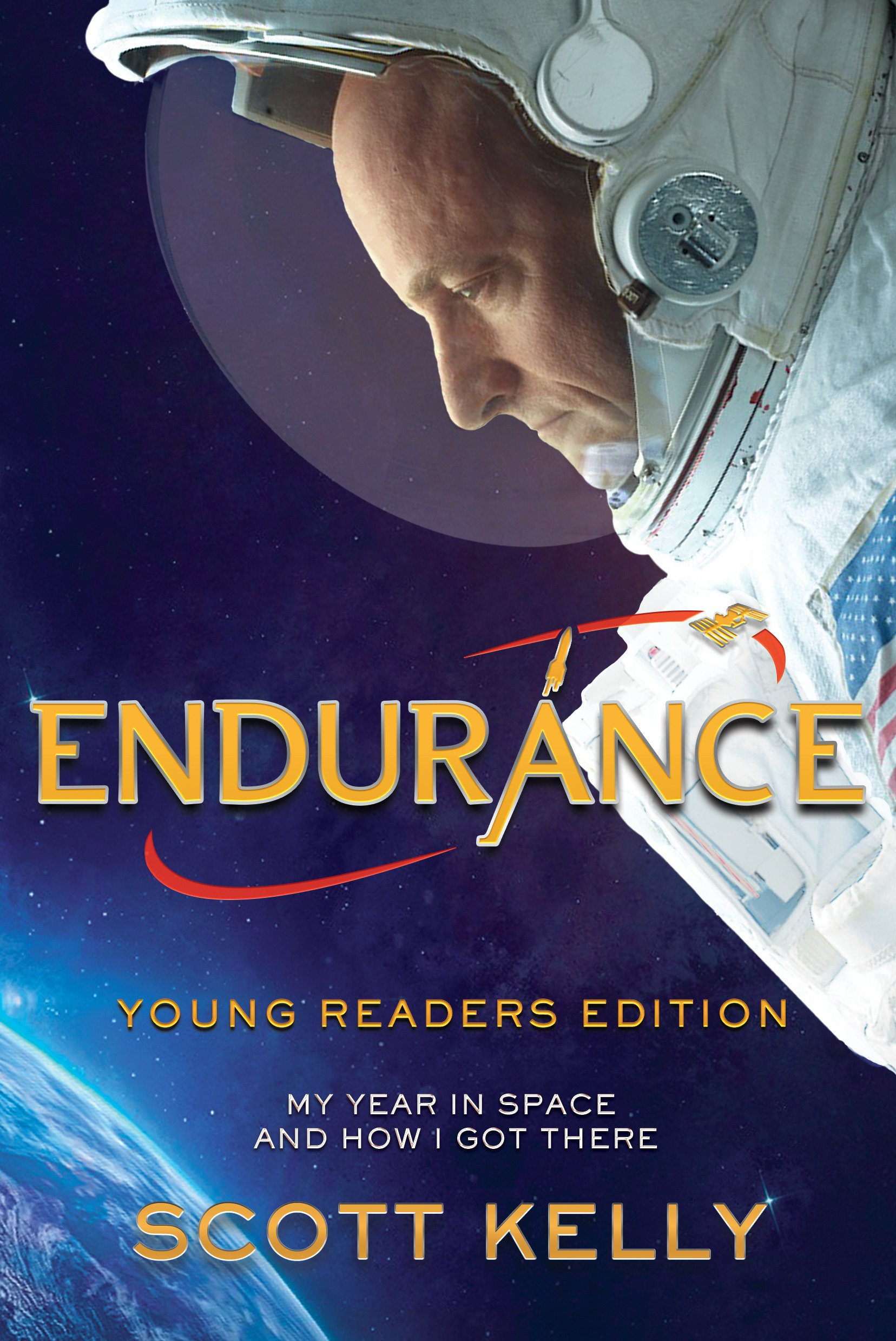 Endurance, Young Readers Edition: My Year in Space and How I Got There by Crown Books for Young Readers (Image #1)