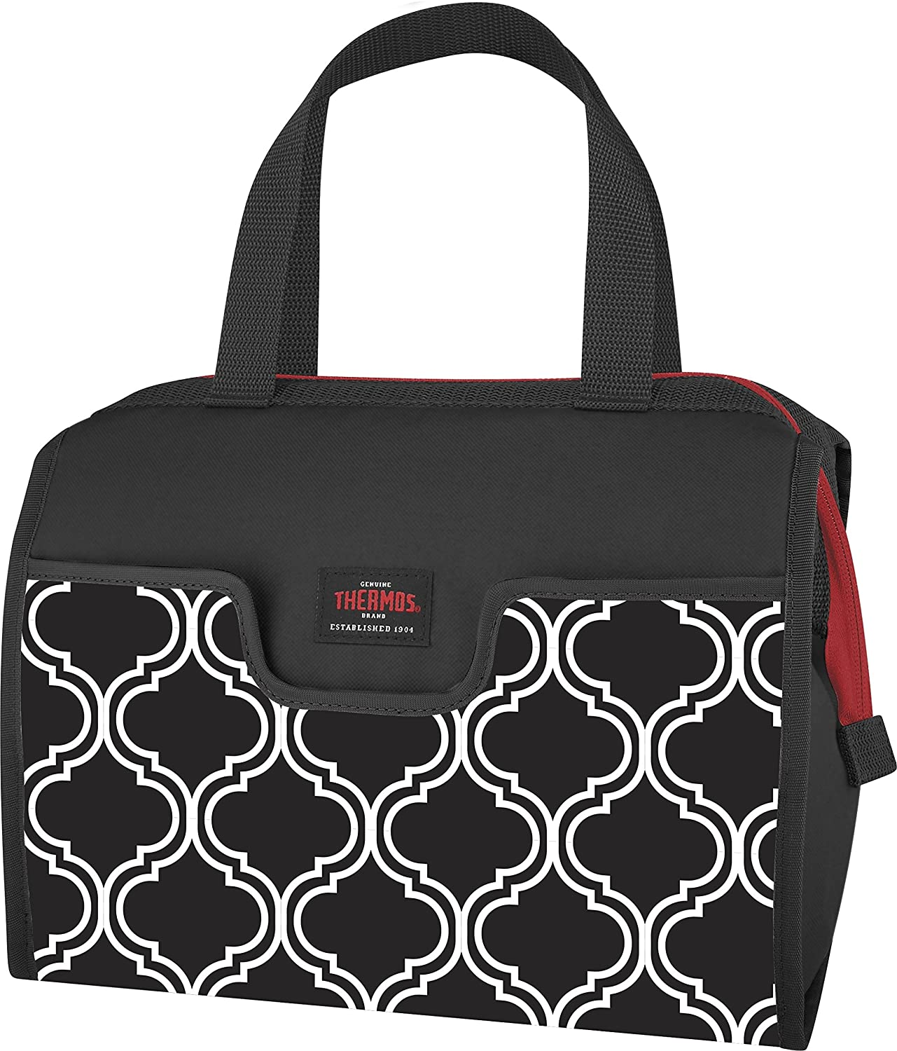 Thermos C55209004BK Raya 9 Can Lunch Duffle, Brooke, Black